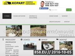Miniaturka Szamba betonowe - producent - cała Polska (www.szamba-pl.pl)