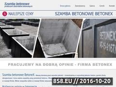 Miniaturka domeny szambabetonowe.pl