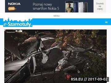 Zrzut strony Szamotuły - informacje i aktualności