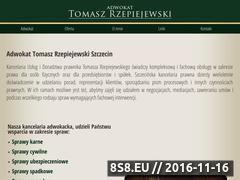 Miniaturka domeny www.szczecin-adwokat.com