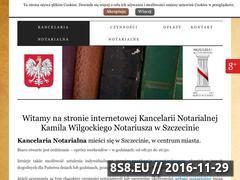Miniaturka domeny www.szczecin-kancelaria-notarialna.pl