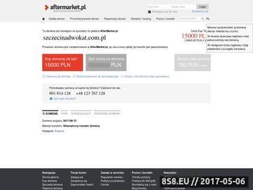 Zrzut strony Prawnik Szczecin