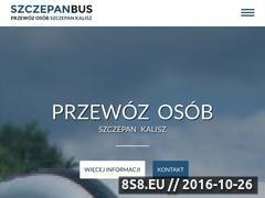 Miniaturka domeny szczepanbus.pl