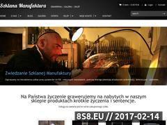Miniaturka domeny szklanamanufaktura.pl