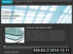 Miniaturka domeny www.szklarstwolodz.pl