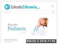 Miniaturka domeny www.szkodazdrowia.pl