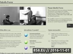 Miniaturka domeny www.szkola-forex.info.pl