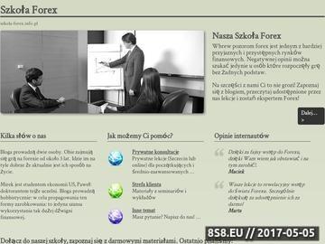 Zrzut strony Szkoła Forex