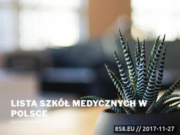 Zrzut strony Policealna szkoła medyczna w Warszawie
