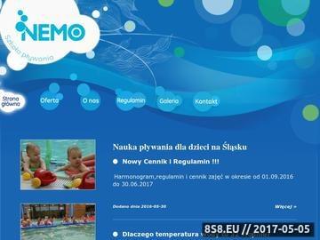 Zrzut strony Szkola plywania dla niemowlat-Nemo,slask,chorzow