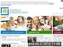 Miniaturka domeny szkolaeuropejska.pl