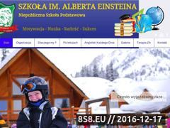 Miniaturka domeny www.szkolaien.pl