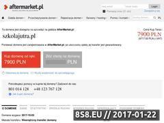 Miniaturka domeny www.szkolajutra.pl