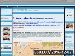 Miniaturka domeny www.szkolarodzenia.org.pl