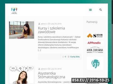 Zrzut strony Szkoła medyczna w mieście Katowice tylko Siódemka