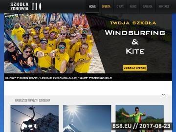 Zrzut strony Obozy narciarskie