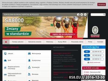Zrzut strony Bureauveritas - najlepsze szkolenia