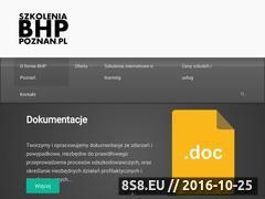 Miniaturka Szkolenia BHP i PPOŻ Poznań, kursy BHP (szkoleniabhp.poznan.pl)
