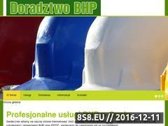 Miniaturka domeny www.szkoleniabhpopole.pl