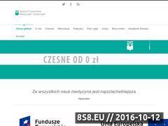 Miniaturka domeny www.szkolymedyczne.eu