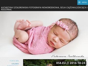 Zrzut strony Fotografia noworodkowa, dziecięca, sesje ciążowe i rodzinne