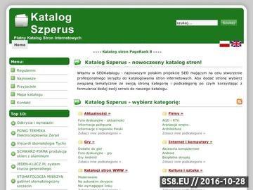 Zrzut strony Dodawanie wpisów darmowych oraz płatnych