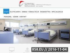 Miniaturka domeny szpital-lukasza.pl