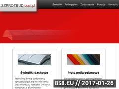 Miniaturka domeny www.szprotbud.com.pl