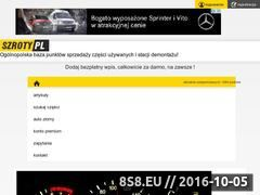 Miniaturka domeny szroty.pl