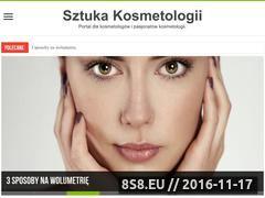 Miniaturka domeny www.sztuka-kosmetologii.pl