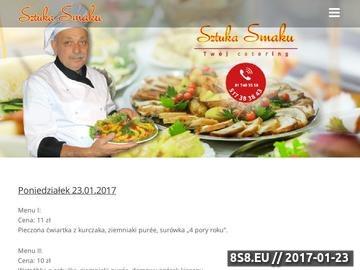 Zrzut strony Catering Lublin