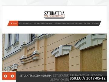 Zrzut strony Sztukateria Przasnysz, Grudusk i Płońsk