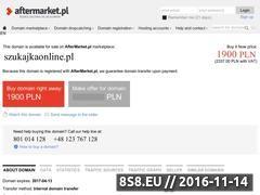 Miniaturka domeny www.szukajkaonline.pl