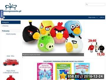 Zrzut strony Prezenty Personalizowane - SzukamPrezentu.pl
