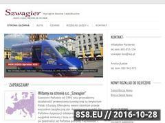Miniaturka domeny szwagier-bus.pl