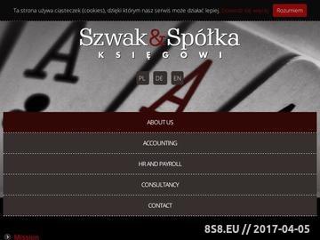 Zrzut strony Szwak & Dopierała :: Księgowi