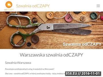 Zrzut strony Szwalnia odCZAPY