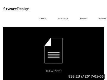 Zrzut strony Szwarc Design - Wzornictwo Przemysłowe