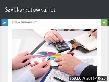 Zrzut strony Szybka-gotowka.net - szybkie pożyczki pozabankowe