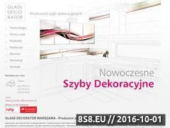 Miniaturka domeny www.szyby-dekoracyjne.pl