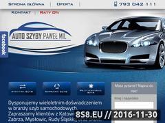 Miniaturka domeny www.szybychorzow.pl