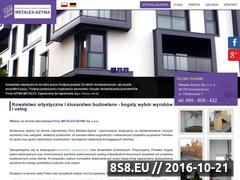 Miniaturka domeny www.szyma-metalex.pl