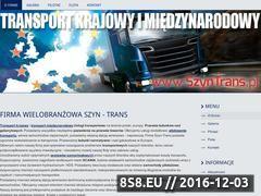 Miniaturka domeny szyntrans.pl