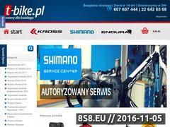 Miniaturka domeny www.t-bike.pl