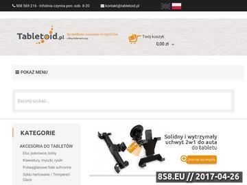 Zrzut strony Akcesoria do tabletu - sklep w Krakowie / Zielonkach