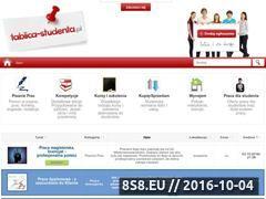 Miniaturka domeny tablica-studenta.pl