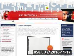 Miniaturka domeny tablice-interaktywne.com.pl