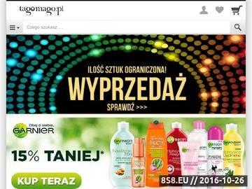 Zrzut strony Perfumeria Tagomago.pl