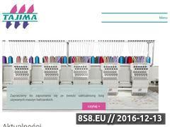 Miniaturka domeny www.tajima.pl