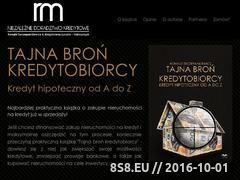 Miniaturka domeny www.tajnabronkredytobiorcy.pl